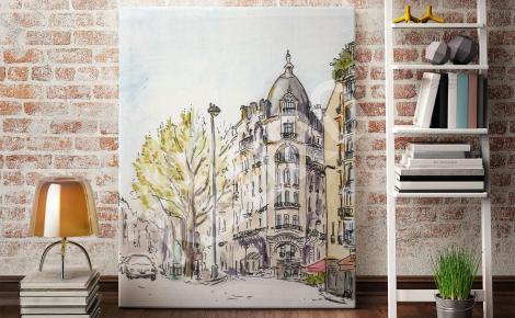 Obraz klasycystyczny Paryż