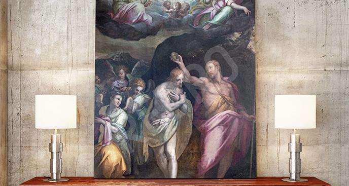 Obraz klasyczna scena religijna
