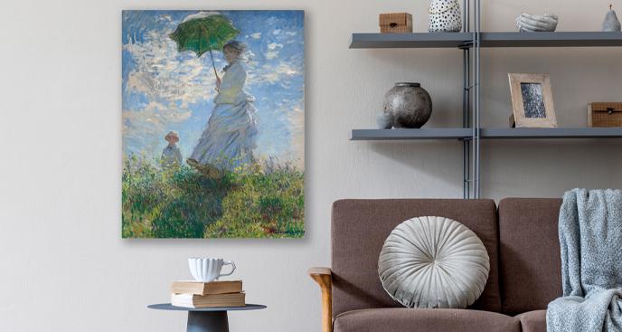 Obraz Kobieta z parasolem