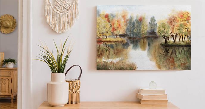 Obraz kolorowa jesień