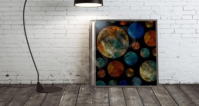Obraz kolorowe planety