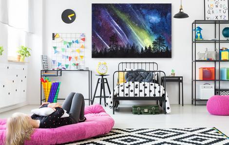 Obraz kosmos do pokoju dziecka