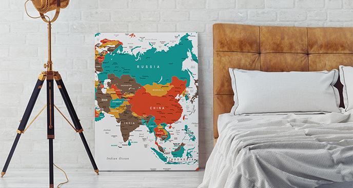 Obraz kraje azjatyckie