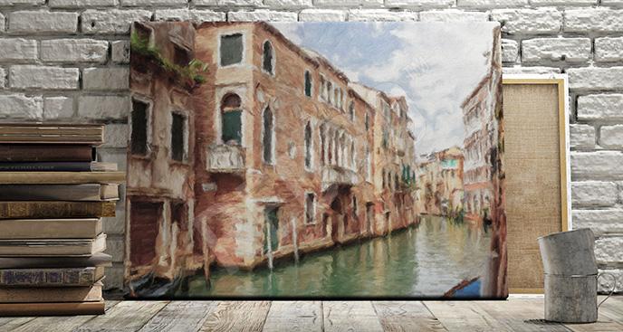 Obraz krajobraz Wenecji
