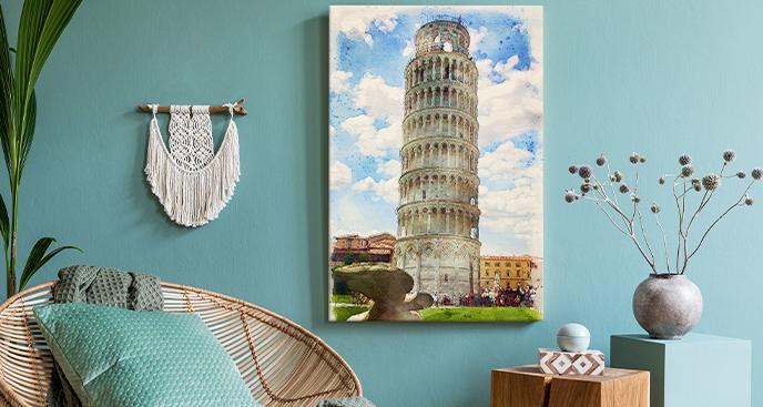 Obraz Krzywa Wieża w Pizie