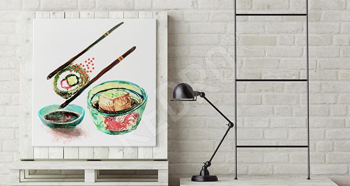 Obraz kuchnia japońska
