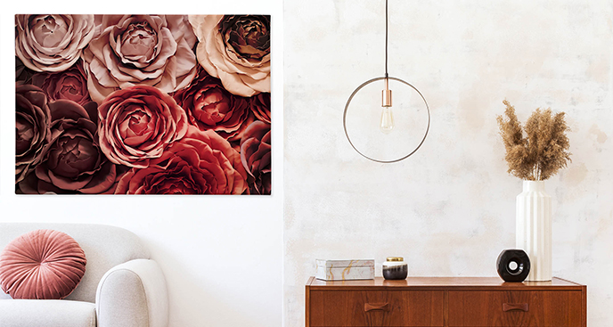 Obraz róże ogrodowe