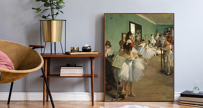 Obraz Lekcja baletu