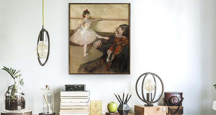 Obraz Lekcja tańca