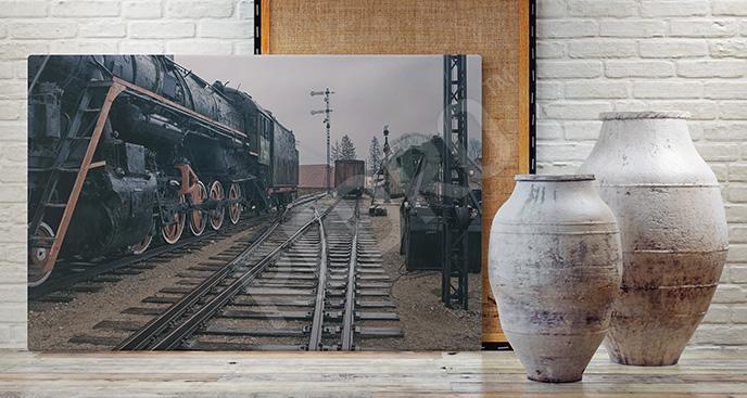 Obraz lokomotywa vintage