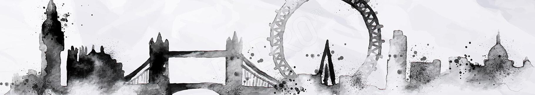 Obraz Londyn czarno-biały