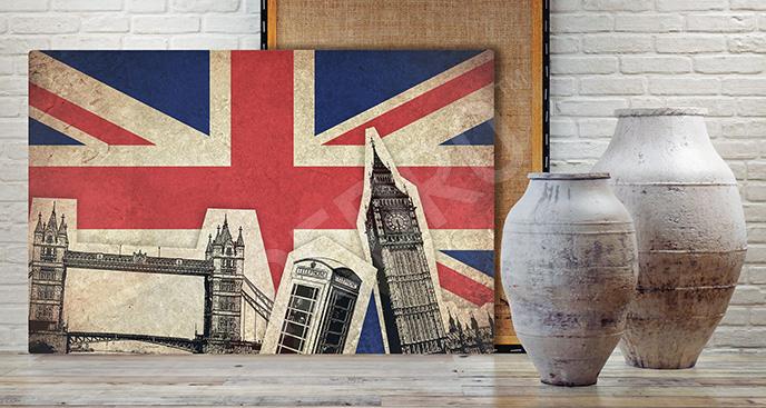 Obraz Londyn dla nastolatka