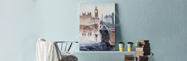 Obraz Londyn do domowego biura