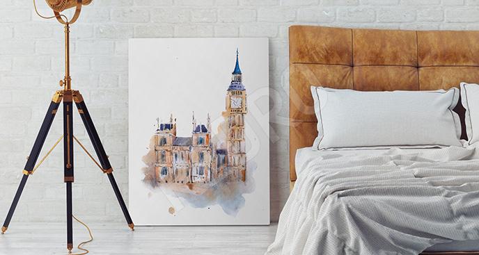 Obraz Londyn do sypialni