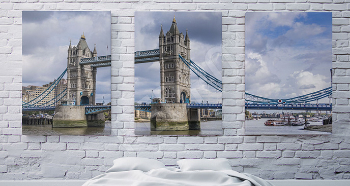 Obraz Londyn: Tower Bridge