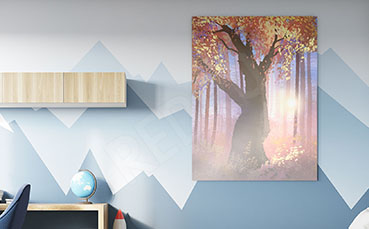 Obraz magiczne drzewo