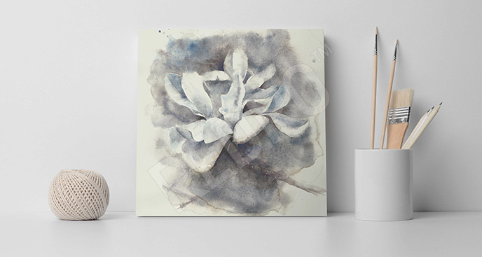 Obraz magnolia akwarela