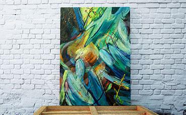 Obraz malarstwo do salonu