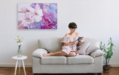 Obraz malarstwo floralne