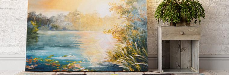 Obraz malarstwo pejzaż