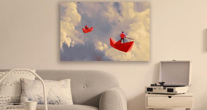 Obraz malarstwo surrealistyczne