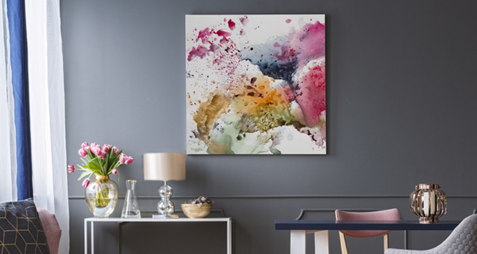 Obraz malarstwo w akwareli