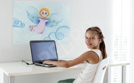 Obraz mały aniołek - dla dzieci