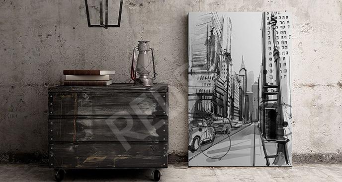 Obraz Manhattan ulica