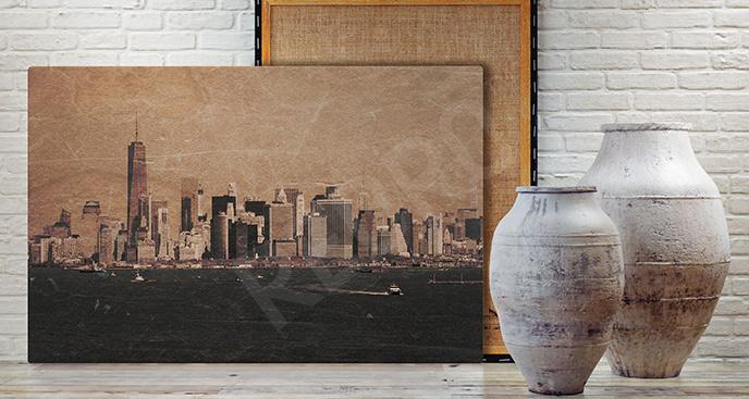 Obraz Manhattan vintage