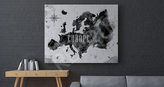 Obraz mapa świata: Europa