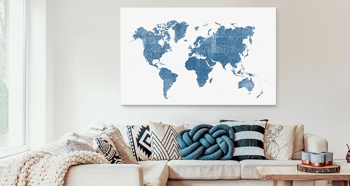 Obraz mapa Brazylii