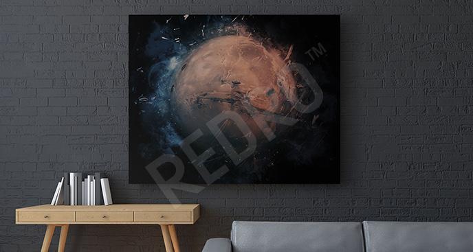 Obraz Mars 3d