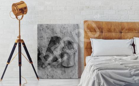 Obraz martwa natura do sypialni