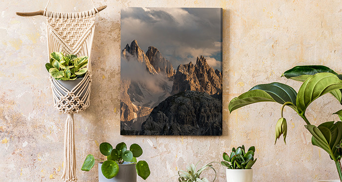 Obraz góry w Chinach