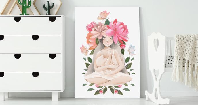 Obraz matczyna miłość