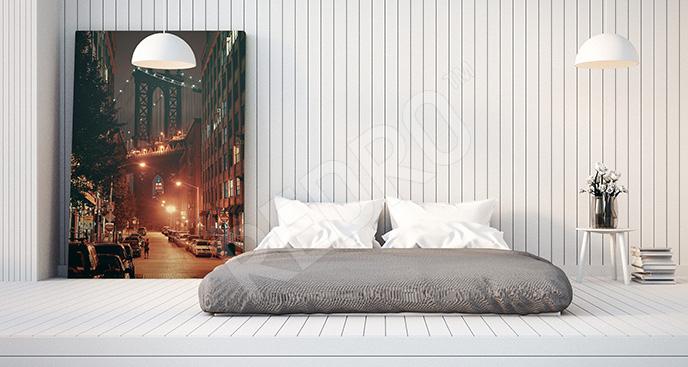 Obraz miasto do sypialni