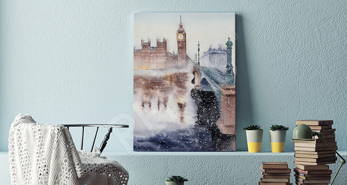 Obraz miasto w Anglii
