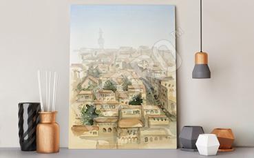Obraz miasto we Włoszech
