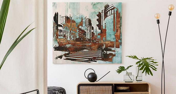 Obraz miejska architektura