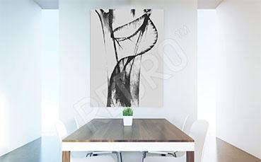 Obraz minimalistyczna abstrakcja