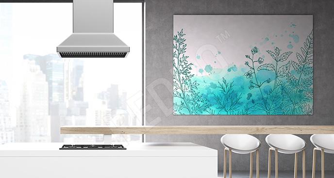 Obraz minimalistyczny do kuchni