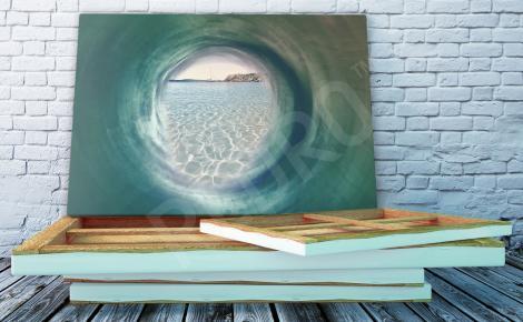 Obraz morski tunel 3D