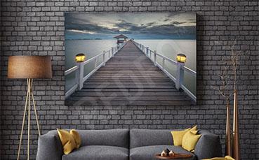 Obraz most do salonu