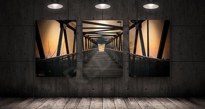 Obraz most: efekt przestrzenny