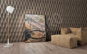 Obraz most jesienią