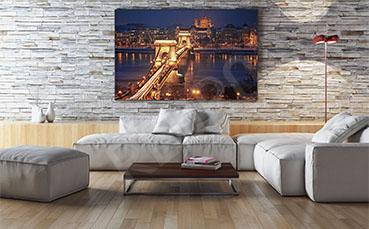 Obraz most w Budapeszcie