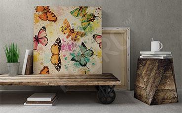 Obraz motyle do przedpokoju