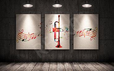 Obraz muzyczny tryptyk