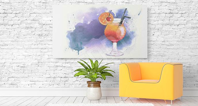 Obraz napój owocowy