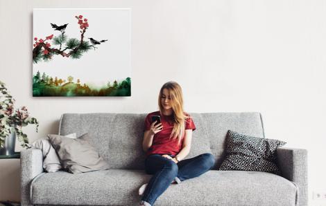 Obraz natura do salonu